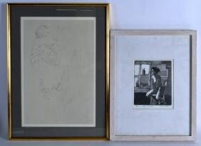 ERIC WARD (British), A Framed Limited Edition Print,