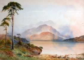 H BAKER (British), A Pair of Framed Watercolour,