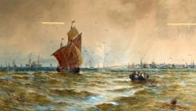 THOMAS BUSH HARDY (1842-1897), Framed