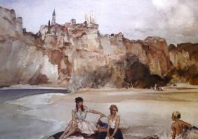 A LARGE QUANTITY OF WATERCOLOURS, together with prints,