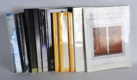 A COLLECTION OF CHRISTIES CATALOGUES C1984 to 1994 &