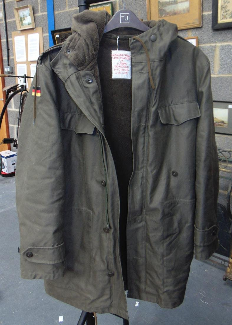 A 1990'S GERMAN MILITARY JACKET