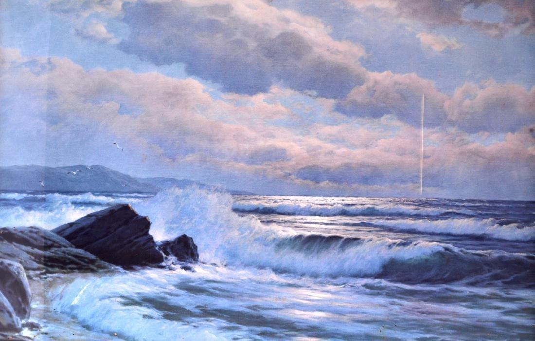 CARL KENZLER (1872-1947), Framed Oil on Board, signed,