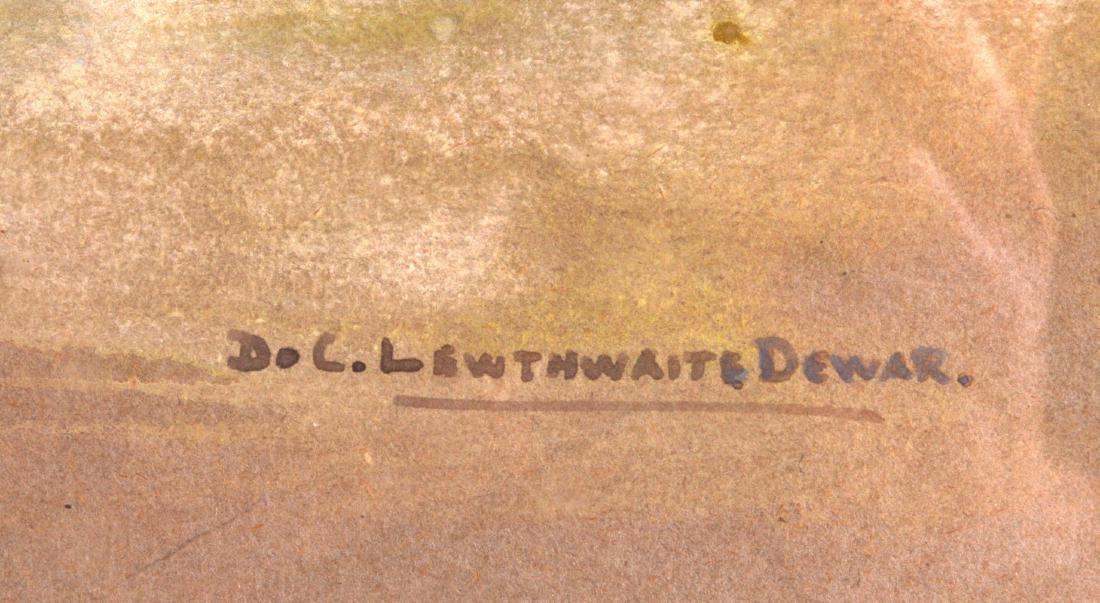 MARGARET DE COURCY LEWTHWAITE DEWAR (1851-1951), Framed - 2