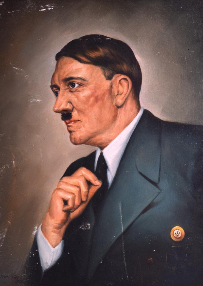 KOMTIS (1934), An unframed Oil on canvas, Quarter