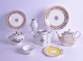 A COLLECTION OF ASSORTED PORCELAIN including New Hall
