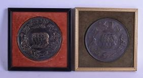 A PAIR OF 19TH CENTURY EUROPEAN CLASSICAL BRONZE