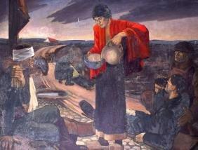 RUSSIAN SCHOOL (Early 20th Century), Unframed Oil on