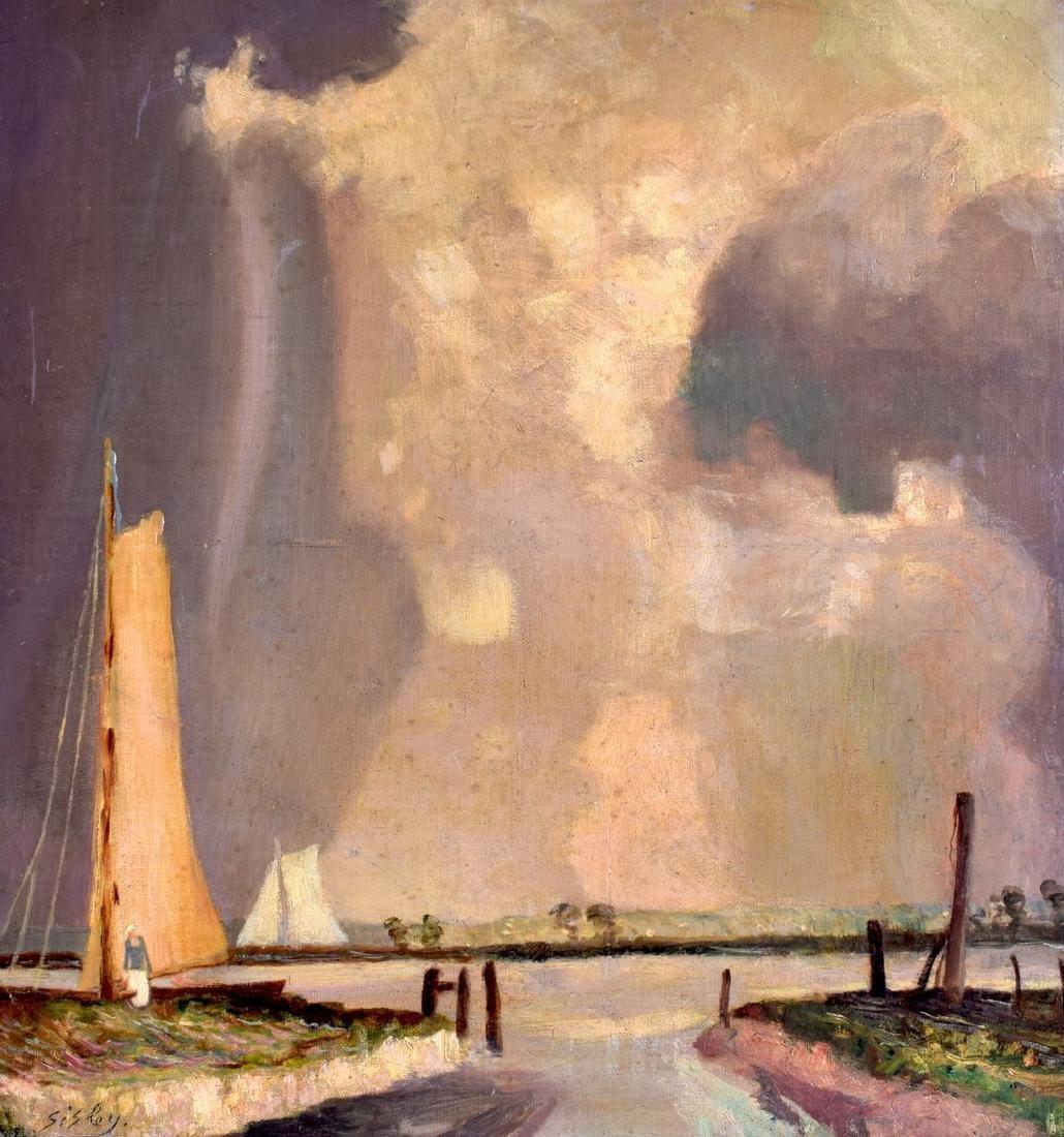 ALFRED SISLEY (1839-1899), Unframed Oil on Canvas,