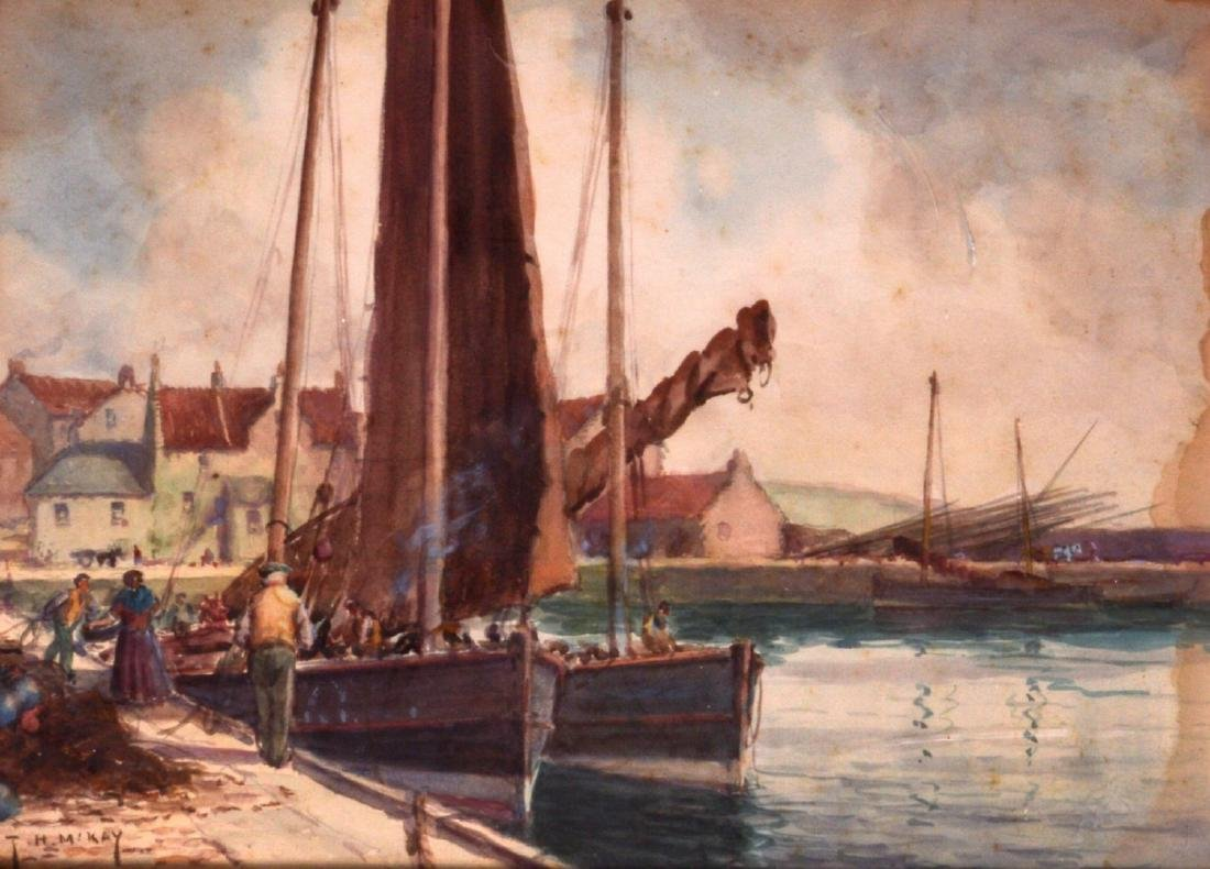 THOMAS HILL MCKAY (b.1874), Framed Watercolour, signed,