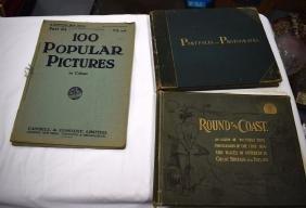 THREE FOLIOS, containing early photographs.