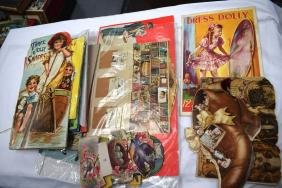 COLLECTION OF CHILDRENS POP UP DOLL BOOKS, some early.