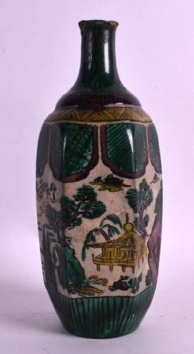 AN 18TH CENTURY JAPANESE EDO PERIOD PORCELAIN SAKE
