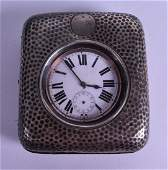 A LATE VICTORIAN SILVER CASED GOLIATH POCKET WATCH with