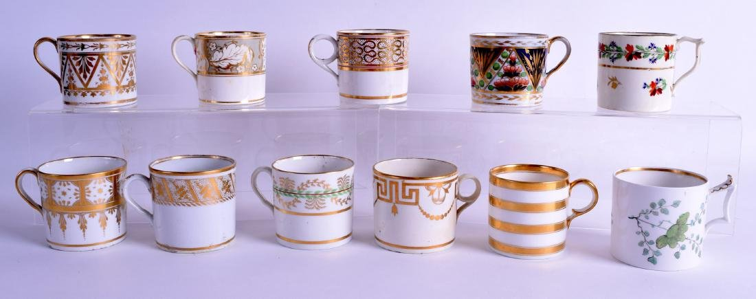 Early 19th c. coffee cans attributed to Flight Barr and