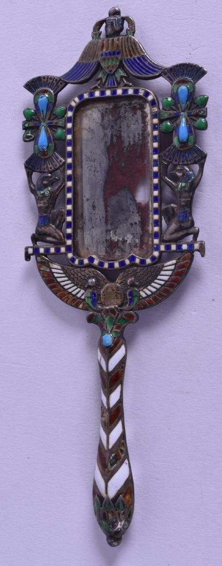 AN UNUSUAL LATE 19TH CENTURY CONTINENTAL SILVER AND