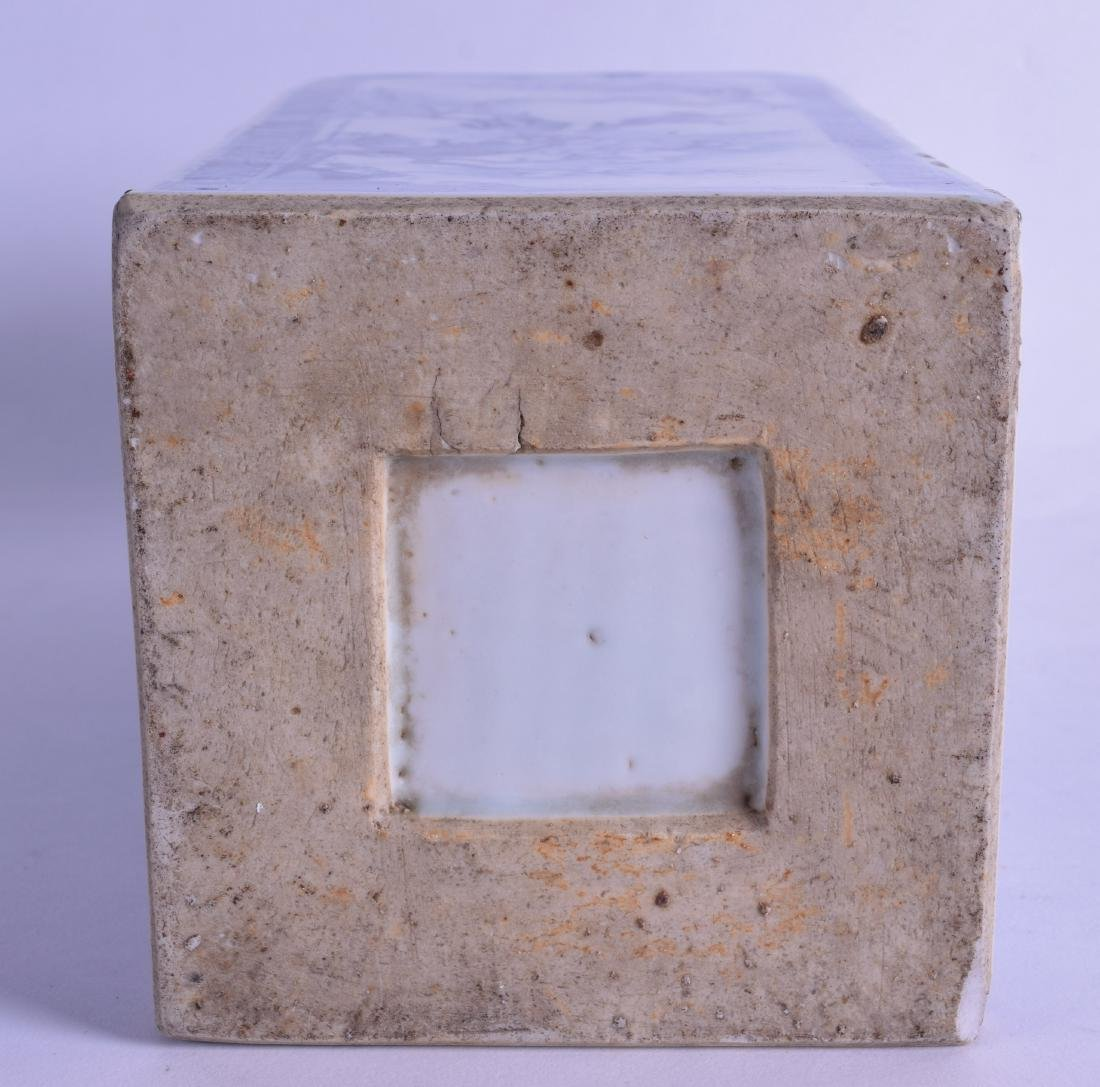 A FINE 17TH/18TH CENTURY CHINESE BLUE AND WHITE SQUARE - 3