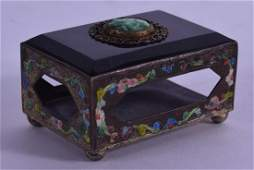 AN UNUSUAL EARLY 20TH CENTURY CHINESE ENAMELLED