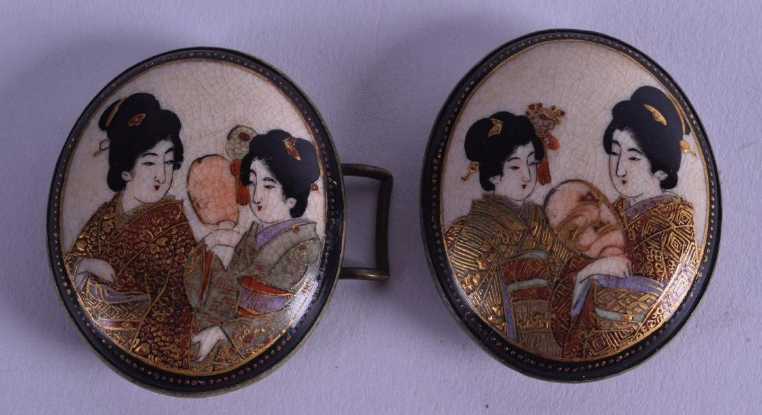 A PAIR OF LATE 19TH CENTURY JAPANESE MEIJI PERIOD