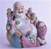 A CHINESE REPUBLICAN PERIOD FAMILLE ROSE FIGURE OF A