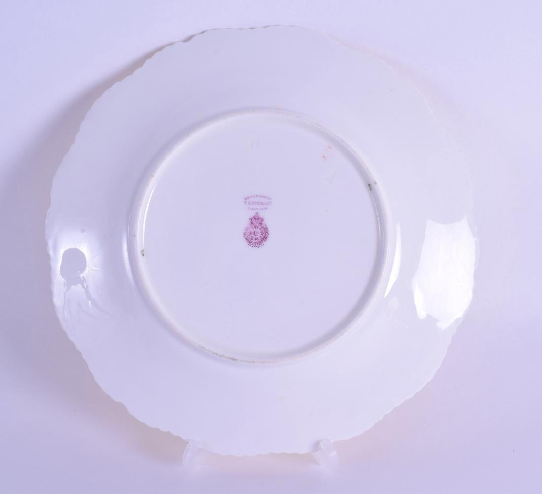 Royal Worcester fine plate painted with fruit including - 2