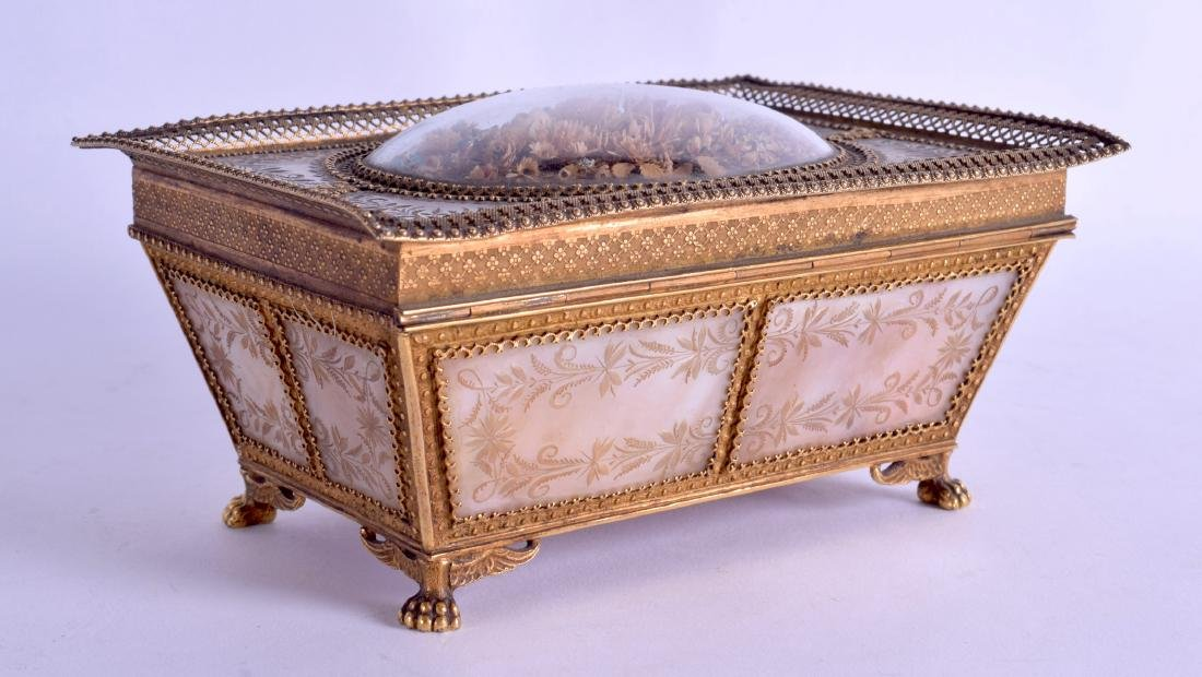A FINE MID 19TH CENTURY FRENCH PALAIS ROYAL MOTHER OF - 2