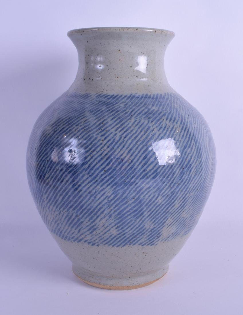 William Plumptre (20th Century) A Studio pottery vase.