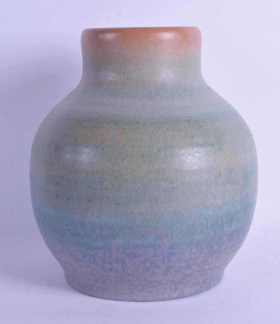 AN UNUSUAL PILKINGTONS ROYAL LANCASTRIAN POTTERY VASE
