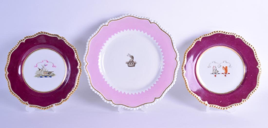 Early 19th c. Flight Barr and Barr Worcester plate with