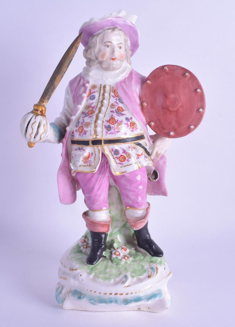 18th c. Derby theatrical figure of James Quin as