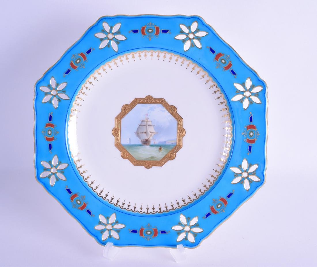Late 19th/early 20th c. Minton plate inspired by Sir