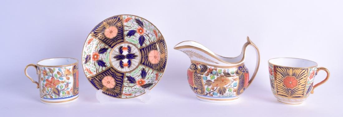 Early 19th c. Spode cream jug painted in an imari