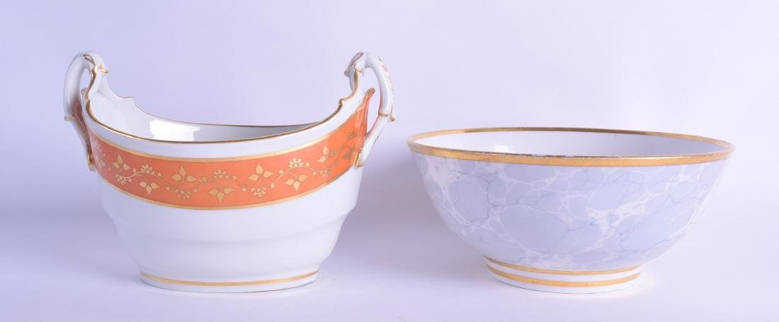 Early 19th c. Worcester Flight Barr fine boat shaped