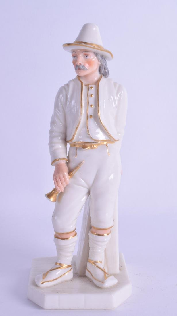Late 19th c. Royal Worcester figure of the Italian,