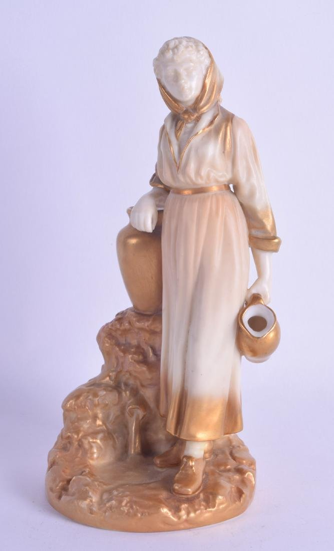 Royal Worcester figure of the Navvy's Companion in