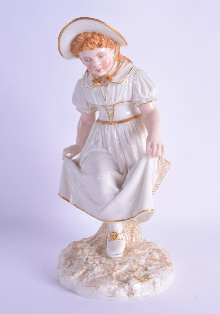 Royal Worcester figure of the Dancing Girl modelled by