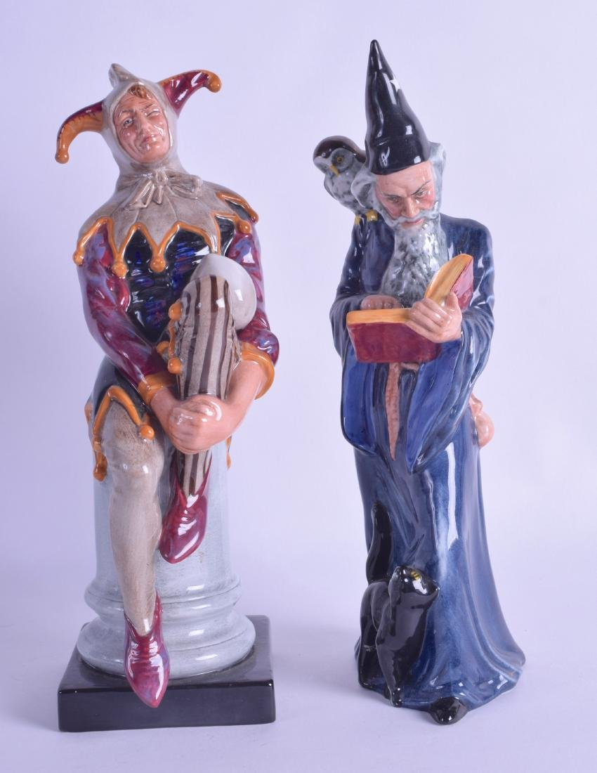 20th c. Royal Doulton figure of the The Jester and The
