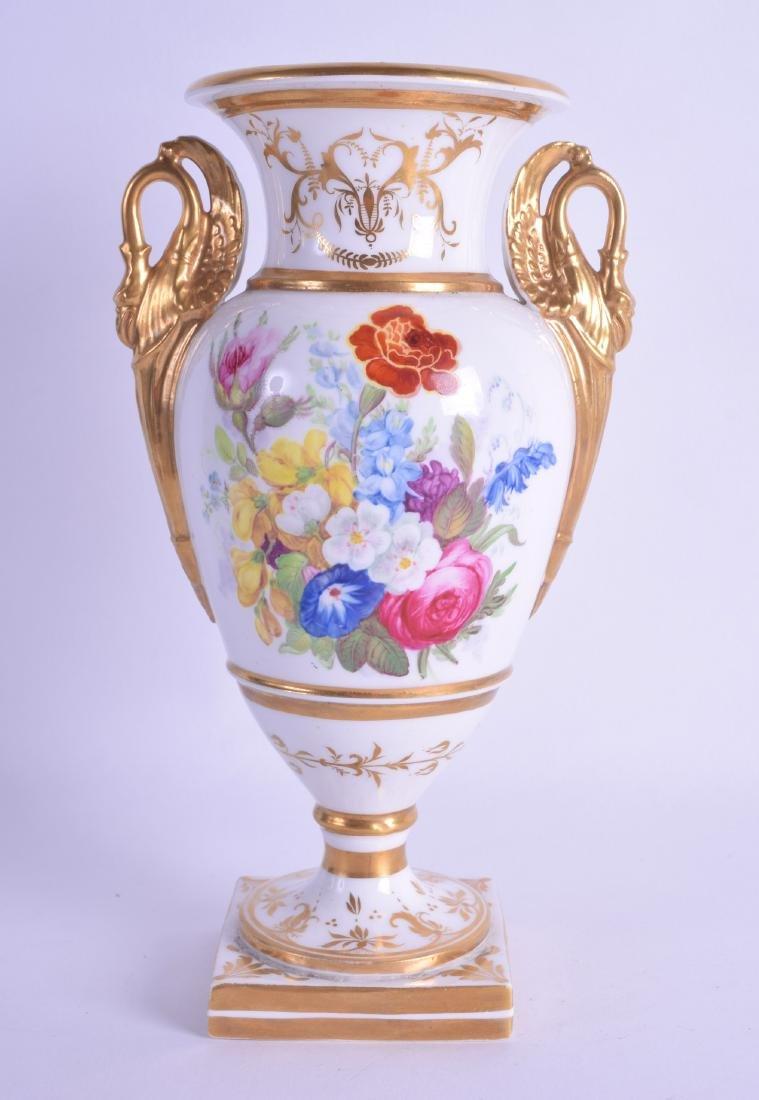 Early 19th c. English porcelain vase of Paris shape