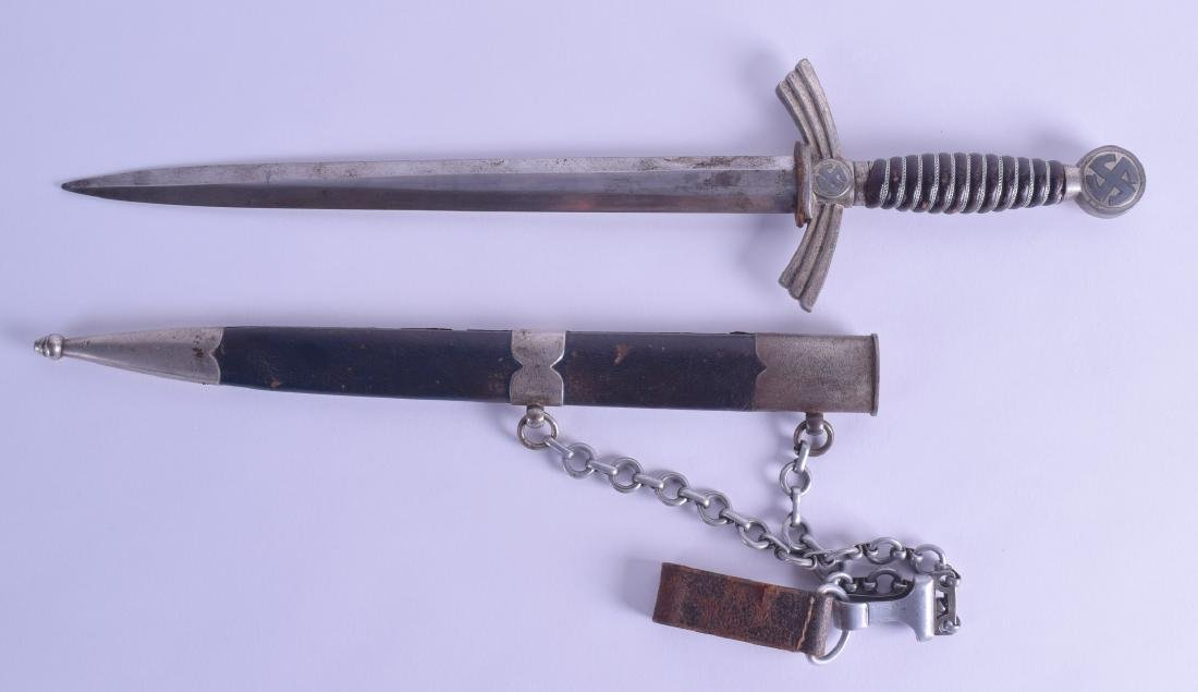 A GERMAN ROBERT KLAAS SOLINGEN MILITARY DAGGER. 48 cm