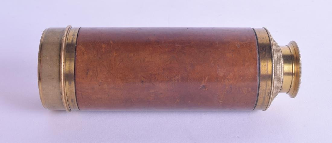 A RARE 19TH CENTURY ENGLISH EIGHT DRAWER TELESCOPE by