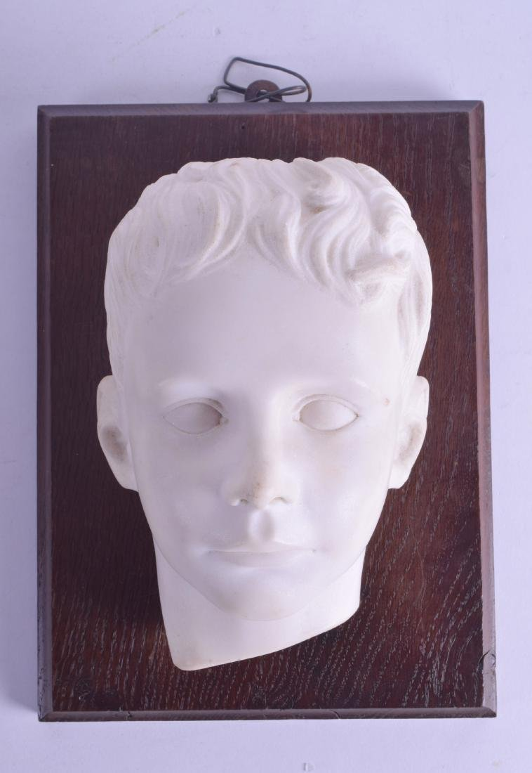 A GOOD 19TH CENTURY CARVED ENGLISH MARBLE PORTRAIT BUST