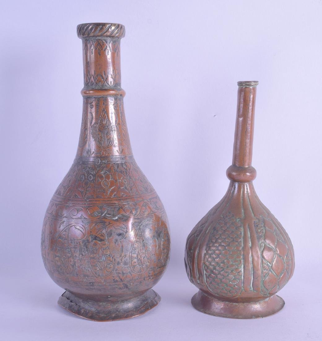 TWO 18TH CENTURY ISLAMIC COPPER WATER SPRINKLERS