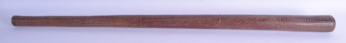 A FINE 19TH CENTURY POLYNESIAN TRIBAL TONGAN COCONUT