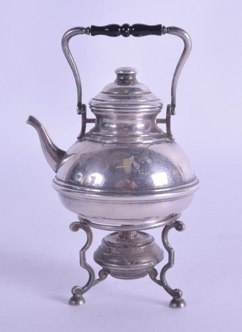AN EARLY 20TH CENTURY CONTINENTAL SILVER MINIATURE