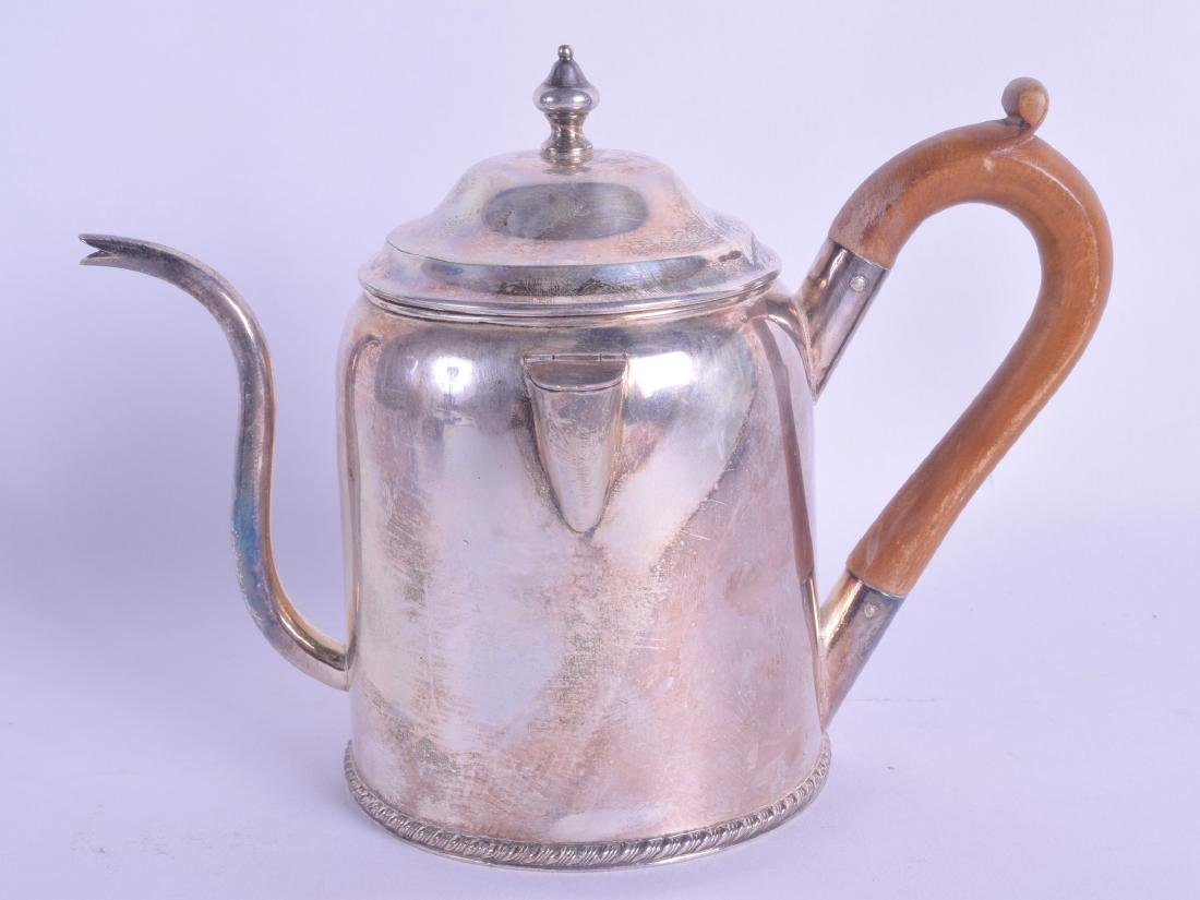 AN EARLY 19TH CENTURY OLD SHEFFIELD PLATED ARGYLE with