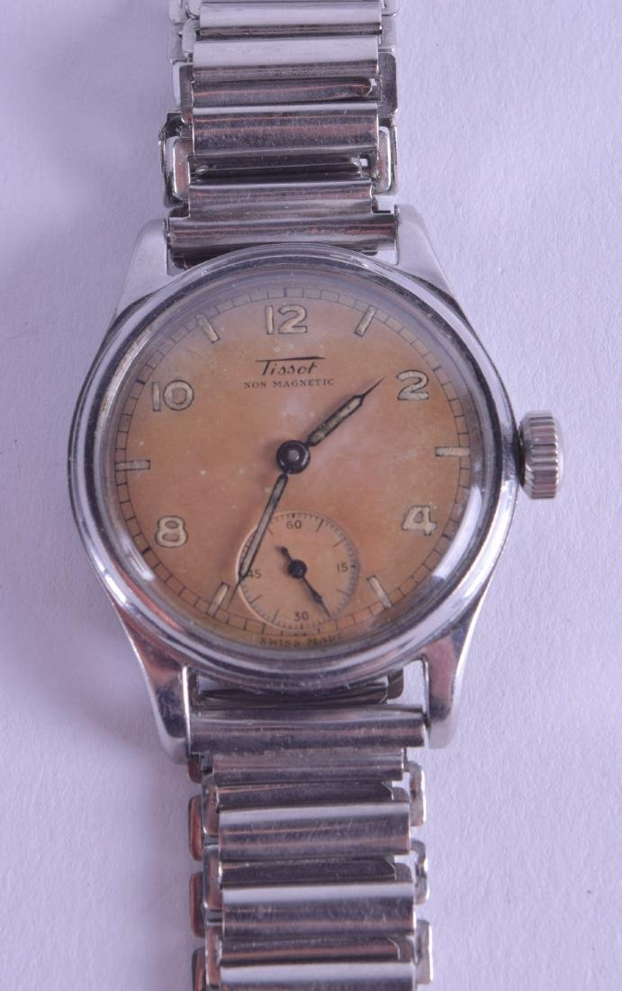 A VINTAGE TISSOT ANTI MAGNETIC STAINLESS STEEL