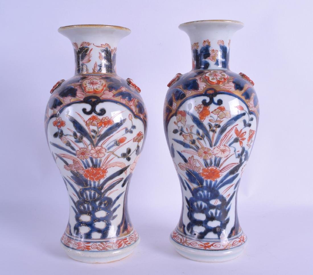 A PAIR OF EARLY 19TH CENTURY JAPANESE EDO PERIOD IMARI