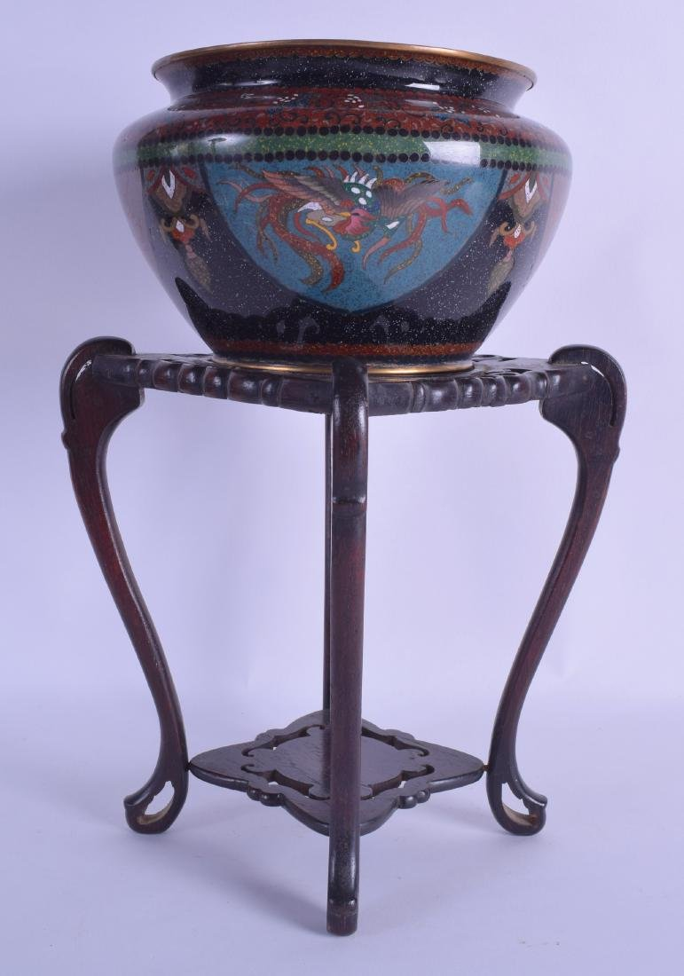 A LATE 19TH CENTURY JAPANESE MEIJI PERIOD CLOISONNE