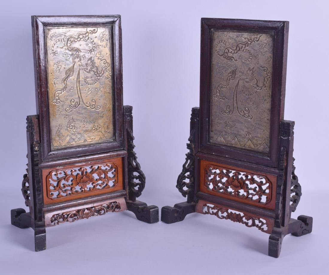 A PAIR OF LATE 19TH CENTURY CHINESE BOXWOOD AND PAKTONG