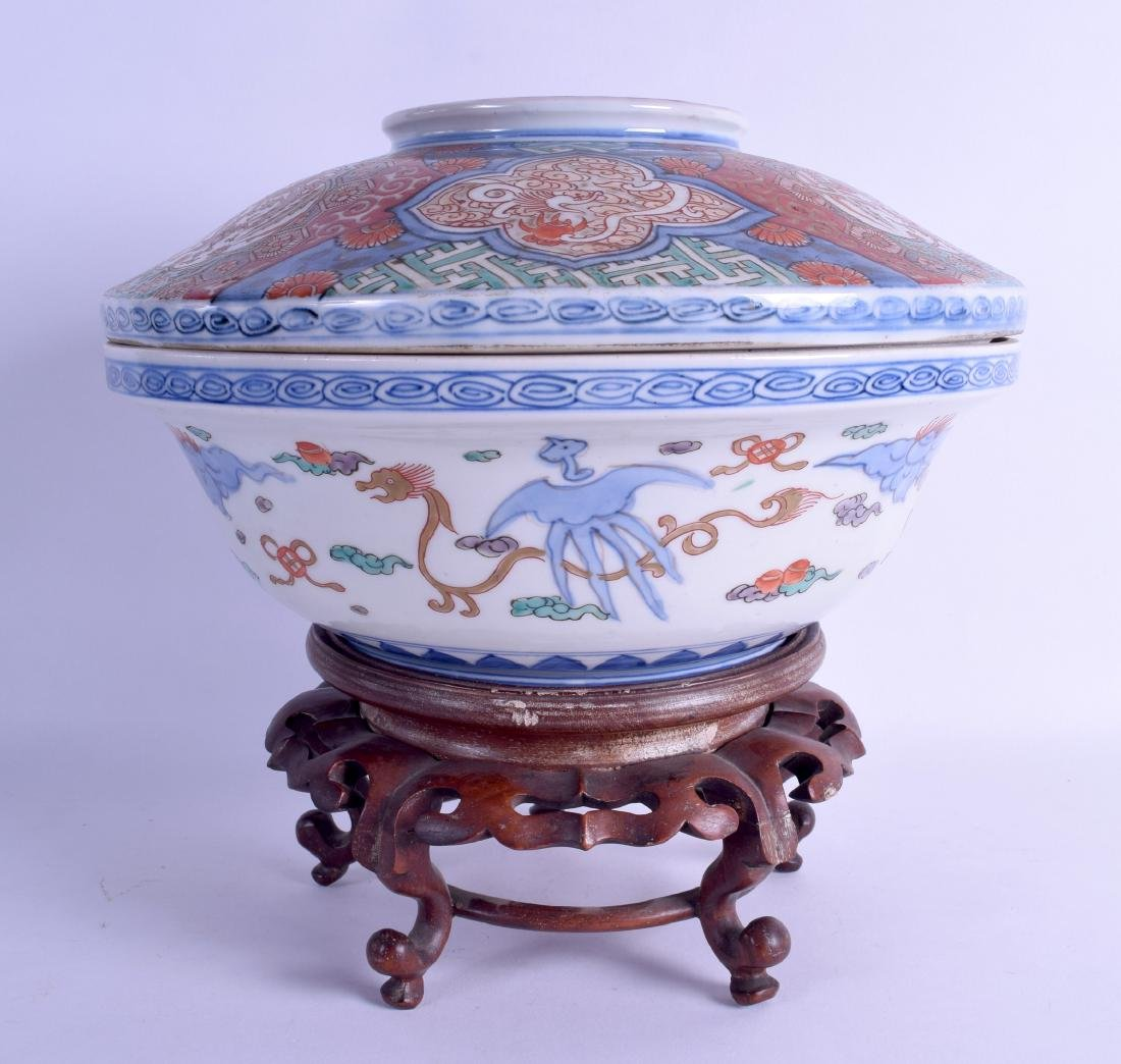 AN EARLY 19TH CENTURY JAPANESE EDO PERIOD IMARI BOWL